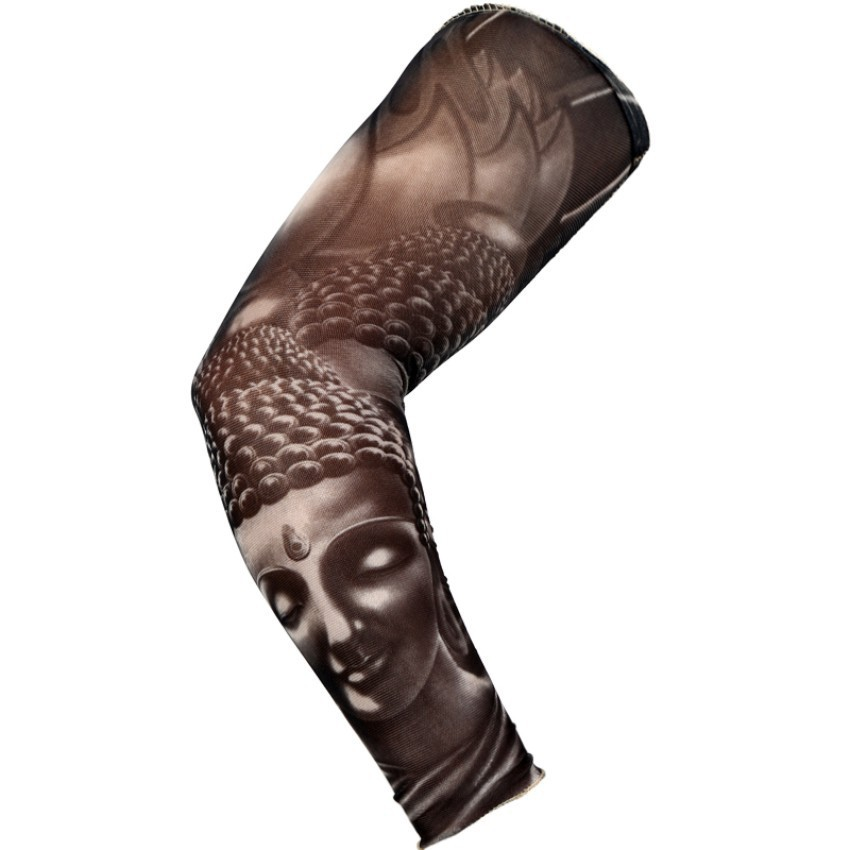 Fake Sleeve New Tattoo 92% nylon and 8% Spandex Elastic Tattoo Sleeves Body Arm Stockings Fashion Arm Stocking Temporary Tattoos