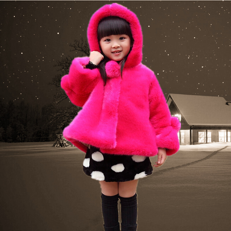 Fashion child wadded jacket autumn and winter kids outerwear girls clothes winter 2016