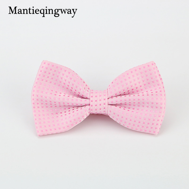 732cb36d7110 Mantieqingway Candy Color Bowtie Fashion Baby Boys Girls Wedding Suits  Accessories Bowties Cute Kids Bow Tie Children Dots Ties