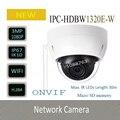 DAHUA WI-FI Камера Mini ИК Сетевая Купольная Камера 3-МЕГАПИКСЕЛЬНАЯ Full HD Открытый Камеры Оригинальная Английская Версия без Логотипа IPC-HDBW1320E-W