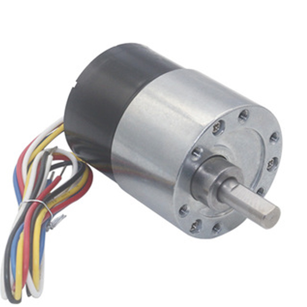 Long Life Mini Micro 12V 24V Brushless DC Geared Motor 7-960RPM High Torque BLDC Motor In DC Motor With Reversed Signal Feedback