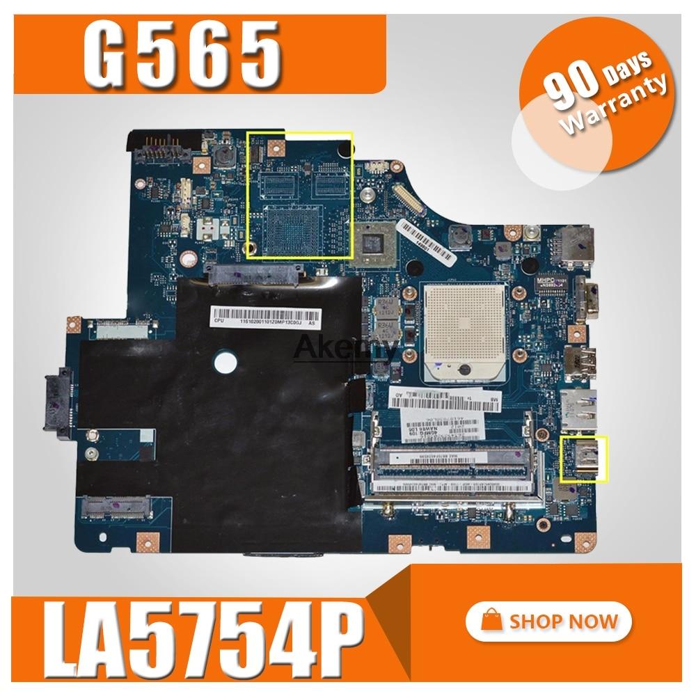 LA 5754P motherboard for Lenovo G565 Z565 Laptop motherboard Z565 motherboard Test mainboard