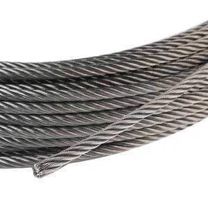 Image 4 - 100 м/рулон высокопрочный 1 мм трос из нержавеющей стали 7X7 Структура кабеля из нержавеющей стали трос для рыбалки