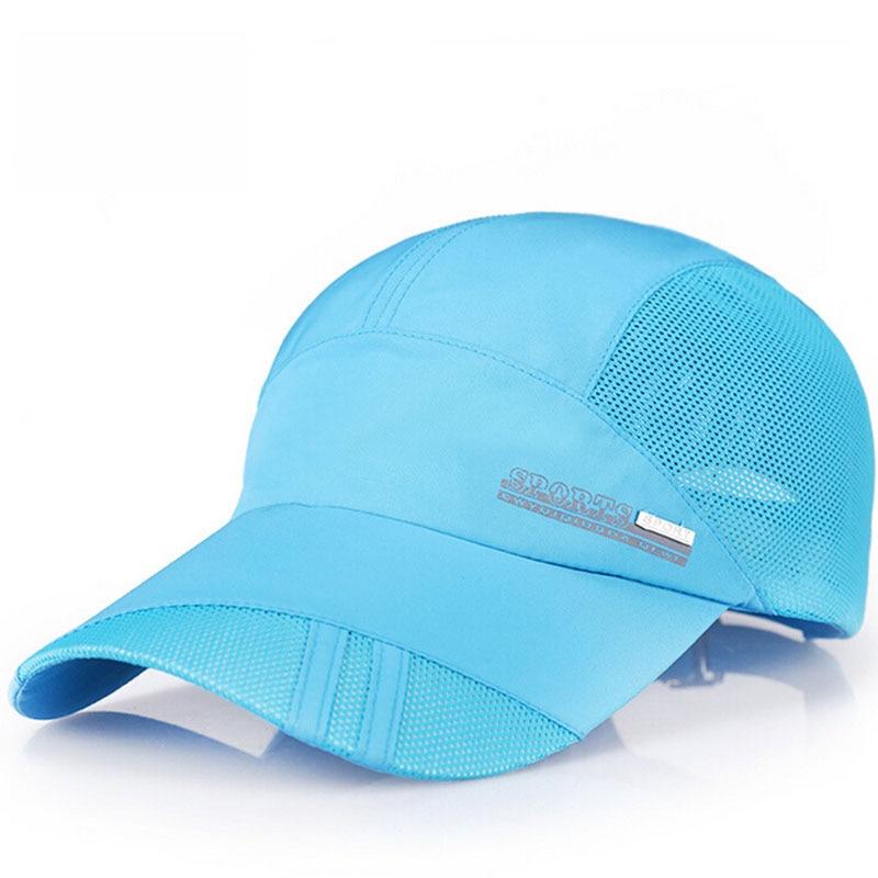 New Summer Herren Breathable Mesh Hüte Baseball Caps - Bekleidungszubehör - Foto 6