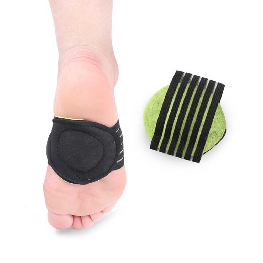 2 pc/lote feminino meia sapato palmilhas pés tapete correto pé plano arco apoio palmilhas ortopédicas respirável sapatos almofada