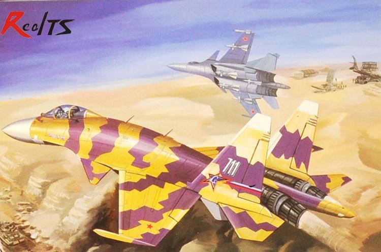 RealTS Trumpeter MiniHobby 80309 1/48 Su-35/37 Super Flanker цены