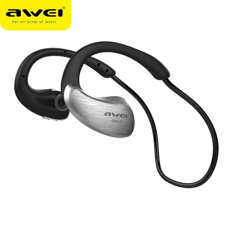 AWEI A885BL Bluetooth Headphones Wireless Earphones fone de ouvido Bluetooth Sport Headset With Microphone Auriculares Ecouteur showkoo stereo headset bluetooth wireless headphones with microphone fone de ouvido sport earphone for women girls auriculares