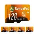 Rondaful tarjeta de memoria de la capacidad plena 128 gb 8 gb tarjeta sd micro 64 gb TF tarjeta de 32 GB 16 GB Tarjeta Microsd Class10 de Alta Velocidad para MP3 teléfonos
