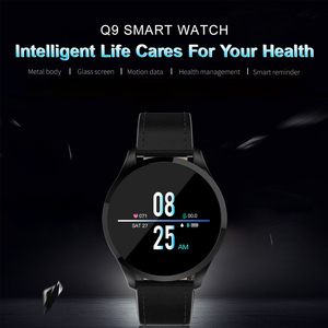 Image 2 - Q8 Q9 Smart Watch Bluetooth Waterproof Message Call Reminder Smartwatch Men Heart Rate Monitor Fitness Tracker Android IOS Phone