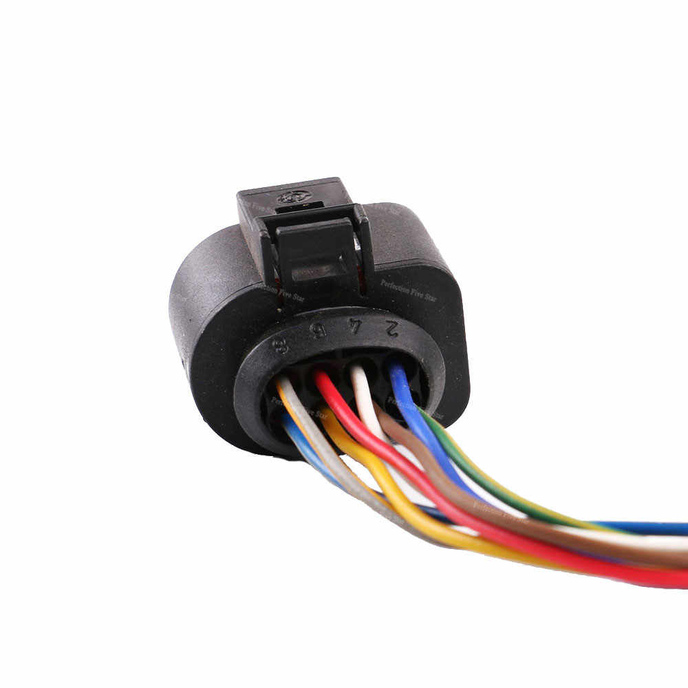 medium resolution of  1j0973714 connector auto electric plug harness wire 8 pin for vw golf jetta passat for audi