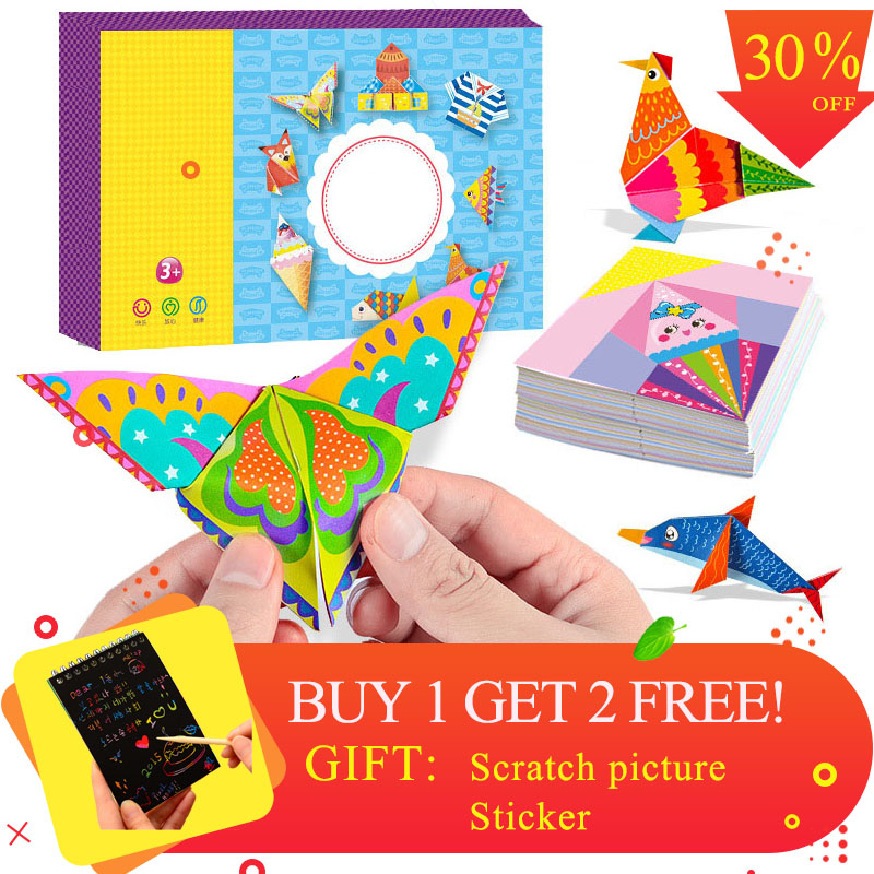 Puzzles Lovely High Quality Lotus Angel Paper Folding Complete Works Of Children Kids Diy Toys Manual Kindergarten Baby Interest Table Toys Puzzles & Games