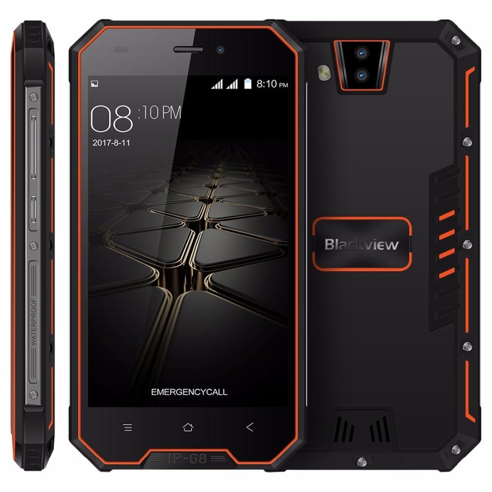 Blackview BV4000 IP68 Waterproof Mobile Phone 8MP Dual Cameras 4.7 Inch HD IPS 1GB+8GB Quad Core 3680mAh Dustproof Smatphone