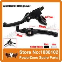 Aluminum Alloy Folding Clutch Lever Brake Lever Fit To CRF KLX Pit Pro Xmotos KAYO Pit