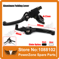 Aluminum Alloy Folding Clutch Lever Brake Lever Fit To CRF KLX Pit Pro Xmotos KAYO Pit