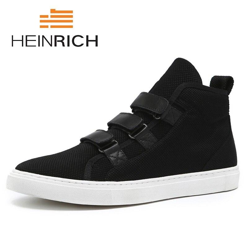 Генрих новый бренд Мужские ботинки 2018 новые модные мужские полусапоги зима осень Повседневное Мужская обувь Coturnos Masculino Militar
