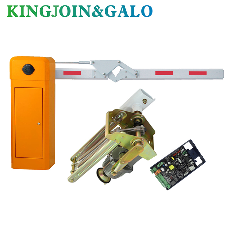 3.5m Boom Arm Barrier Gate Operator Input AC220V, Folded(90 Degree) Boom / Arm