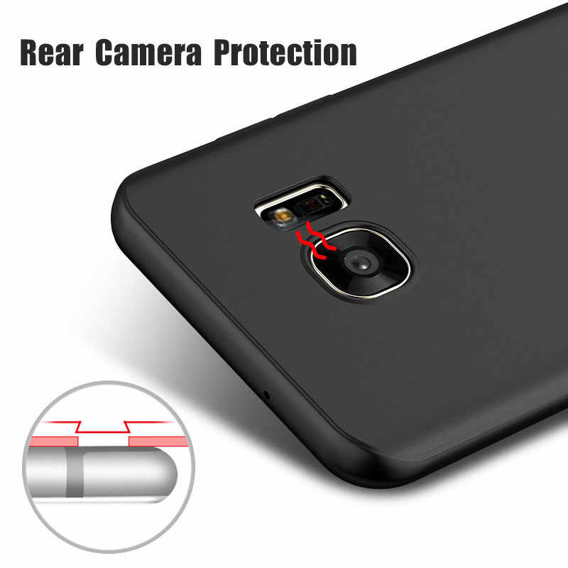 Ultra Slim Matte Silicone Cover Case for Samsung Galaxy A3 A5 A7 2016 J3 J5 J7 2015 2016 J2 Prime 2017 Soft TPU Phone Cases Bag