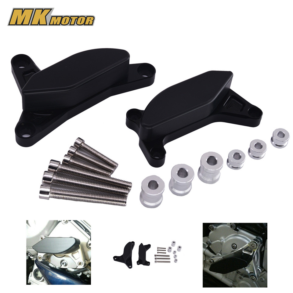 Motorcycle For YAMAHA FZ1 2006-2013 FZ8 2012-2014 Engine Saver Stator Case Guard Cover Slider Protector new arrival 5 colors motorcycle engine saver stator case guard covers slider protector for bmw s1000rr hp4 k42 k46 2009 2015