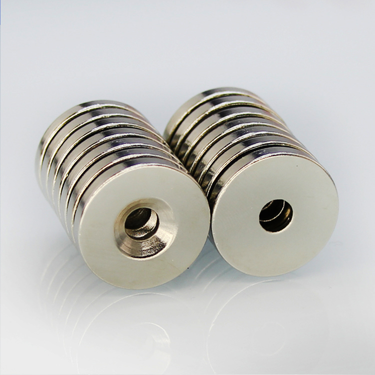 20pcs N50 Strong Disc Neodymium Rare Earth Countersunk Magnets 15 x 3mm Hole 3mm