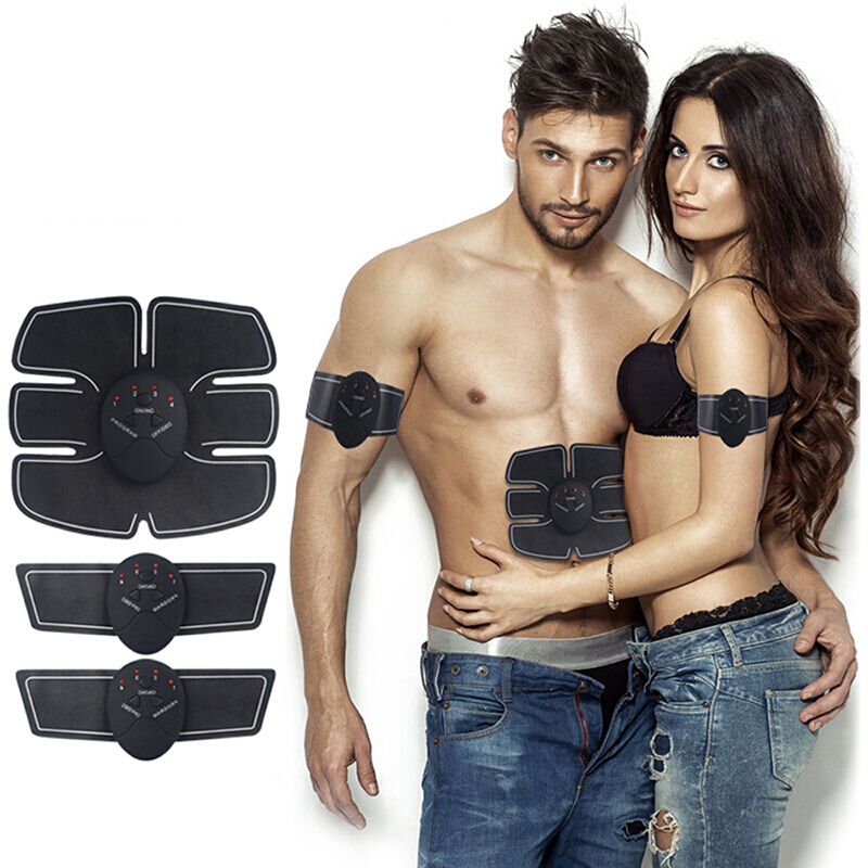 Muscle Electro Stimulator EMS ABS Electrostimulator Abdominal Electric Massager Training Apparatus Fitness Machine Building Body