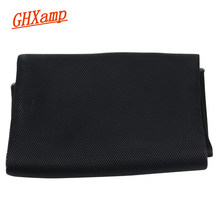 GHXAMP 1.4M * 1M Speaker Grill Cloth Dust Mesh Stereo KTV Loudspeaker Fabric Speakers Cloth Home theater Protective Black Repair(China)