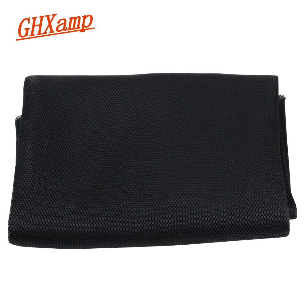 GHXAMP 1.4Meter * 1M Speaker Grill Cloth Dust Mesh Stereo KTV Loudspeaker Fabric Speakers Cloth Home Theater Protective Repair