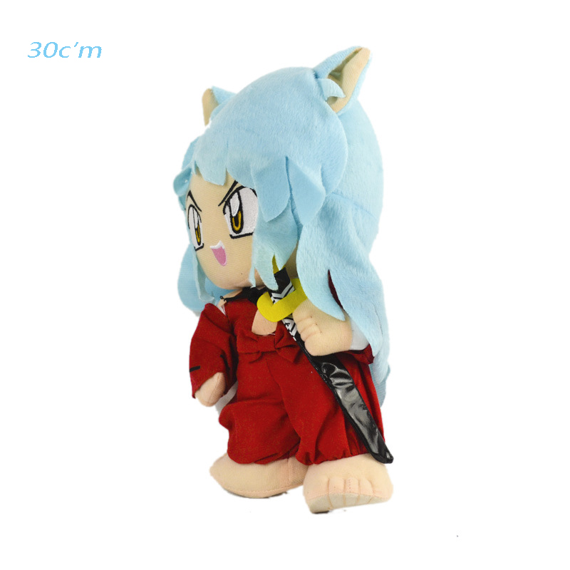 [New] Inuyasha Figure Anime Kagomel Plush Toy Cute Doll Cartoon Anime Peripheral Toy Gift For Baby