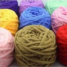 3 Pcs / Lot Colorful 1 Strands cotton yarn for hand knitting hat Scarf socks coat Soft Milk Yarn Crocheting Thick