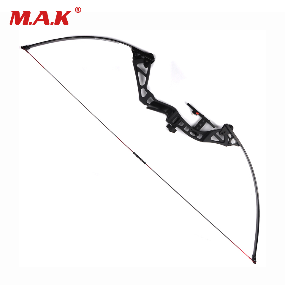 Adjustable Straight Pull American Recurve Bow Length 60 Inches 30 50 Pounds Adjustable for Archery Hunting