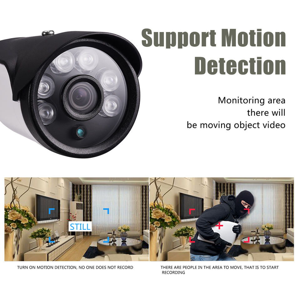 Image 2 - BESDER H.265 IP Camera 4MP SC5239  3MP SC4239 2MP SC2235 Sensor 550AI DC 12V 48V PoE Optional ONVIF Bullet Outdoor CCTV Camera-in Surveillance Cameras from Security & Protection