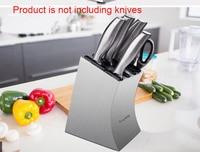Stainless steel household knife holder tool storage rack multi function shelf kitchen knives rack