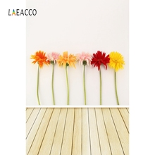 лучшая цена Laeacco Wooden Board Flower Baby Food Pets Portrait Photography Backgrounds Customized Photographic Backdrops For Photo Studio