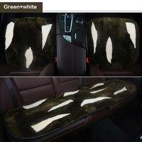 Sheep cashmere Car Seat Covers for toyota corolla rav4 chr mini cooper mini fridge smart fortwo chrysler 300c auto accessories