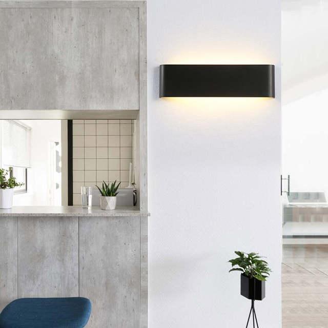 Lámpara De Pared De Aluminio Moderna Luces De Pared Led Para Dormitorio Interior Espejo De Baño Luces Delanteras Bl03x