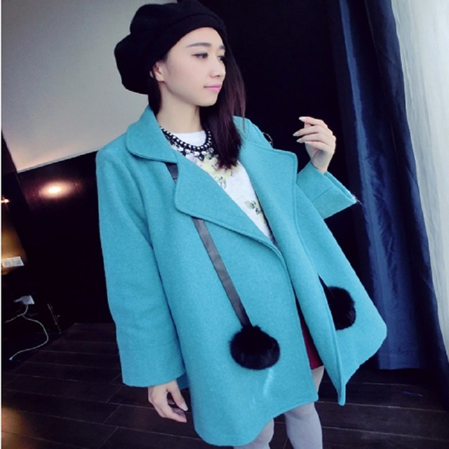 2016 new autumn/winter maternity jacket maternity outerwear pregnancy jacket outerwear maternity clothing wool and blend 16782