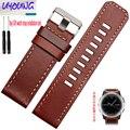 Garmin Fenix3 Derek watchband Fenix 3 Leather Watch Strap Watch lead layer of leather 26MM