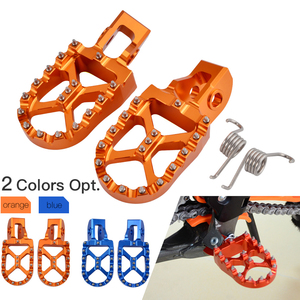 Image 5 - For KTM 2016 2019 Footrest Footpeg Foot Pegs Rests Pedal For KTM SX SXF EXC EXCF XC XCF XCW SX F EXC F 125 150 250 350 450 530