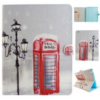 Tablet Case For IPad Air 2 Cute Kids PU Leather Wallet Case Flip Cover Soft TPU