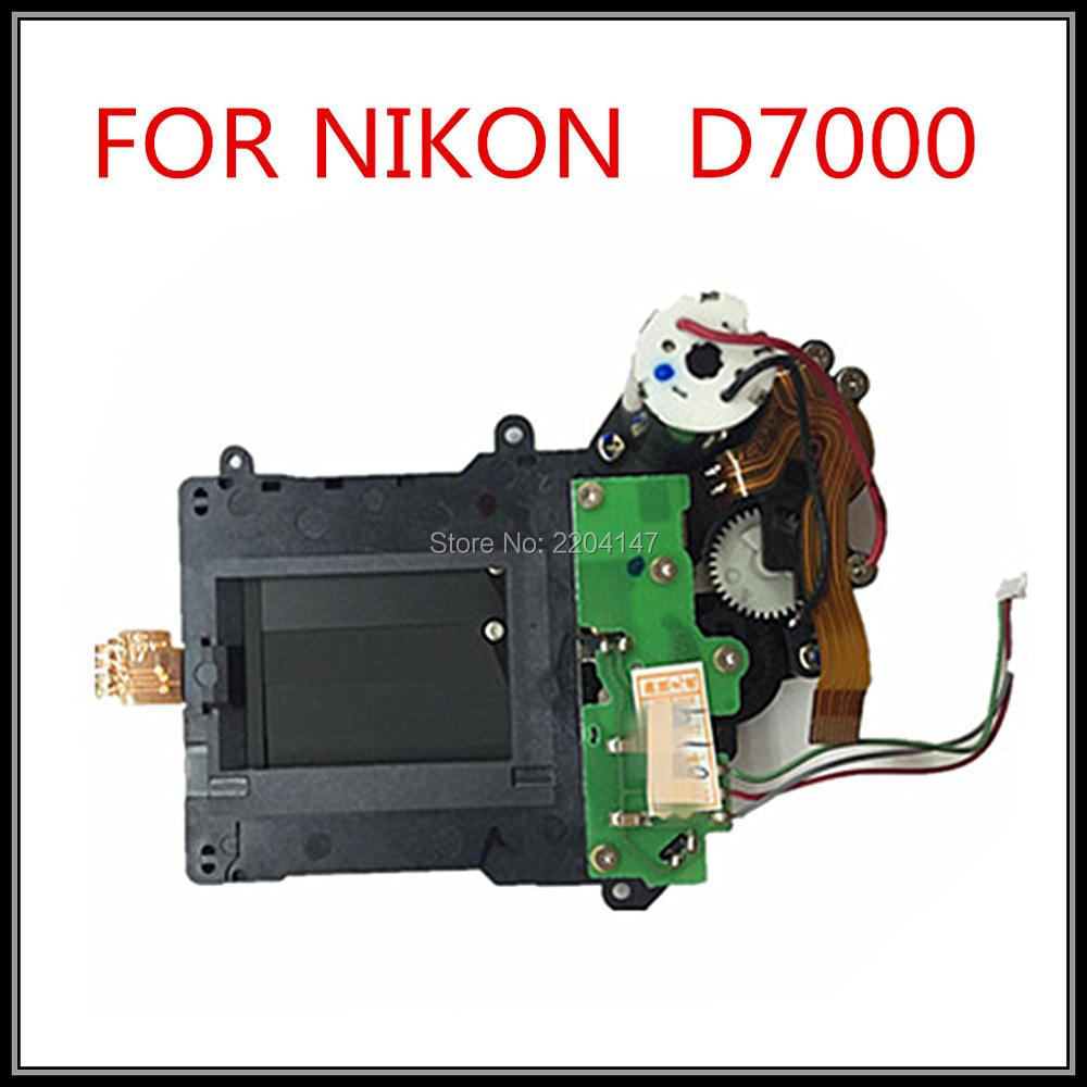 100% Original Shutter With Curtain,motor Assembly Unit Component Part For Nikon D7000 Camera Repair Replace Parts