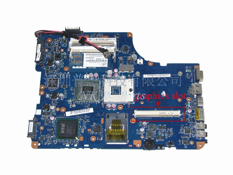 K000010002 Main Board For Toshiba Satellite A500 L500 L505 Laptop Motherboard PM45 DDR2 with Graphics Slot KSWAA LA-4981P laptop motherboard for toshiba satellite l550 l555 k000092150 la 4982p kswaa 46179151lb2 100 page 2