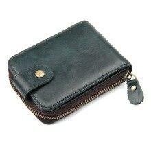 J.M.D 100% Genuine Cow Leather Organizer Walle RFID Blocking Card Holder Wallet