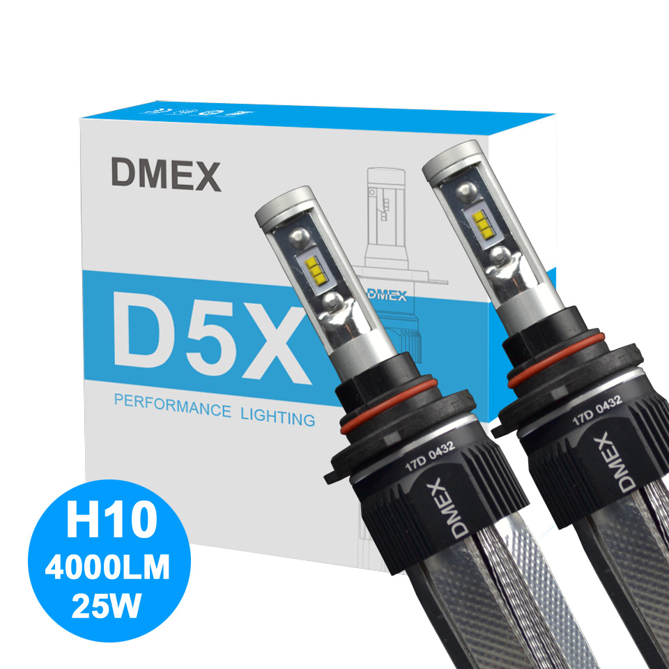 US $39 9 |DMEX 2X High Power Luxeon ZES Chip 3000K 6000K 50W 8000LM Canbus  D5X LED Conversion Kit H16JP H16 Car LED Headlight Bulb-in Car Headlight