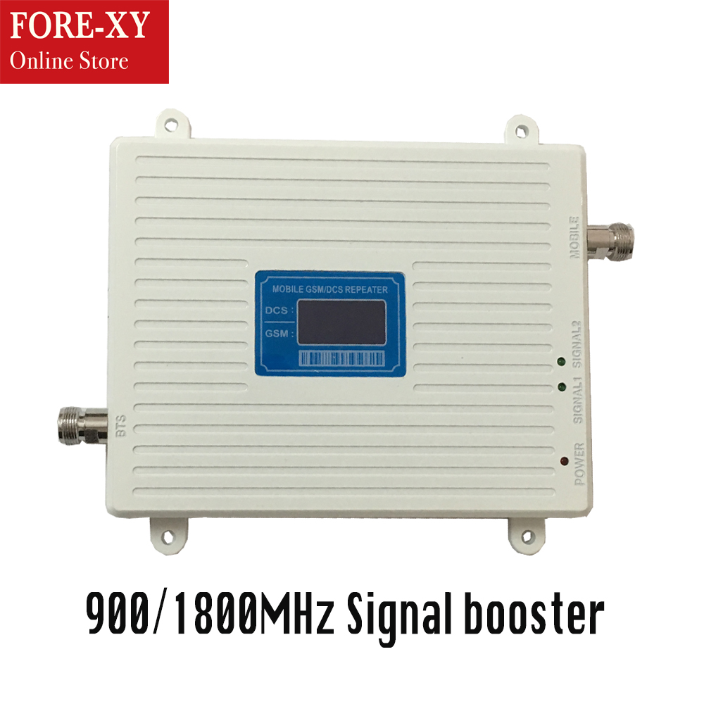 High gain dual band 900 1800 signal repeater for cellphone 2g gsm900 mhz dcs cellular booster repeater gsm 1800 signal amplifierHigh gain dual band 900 1800 signal repeater for cellphone 2g gsm900 mhz dcs cellular booster repeater gsm 1800 signal amplifier