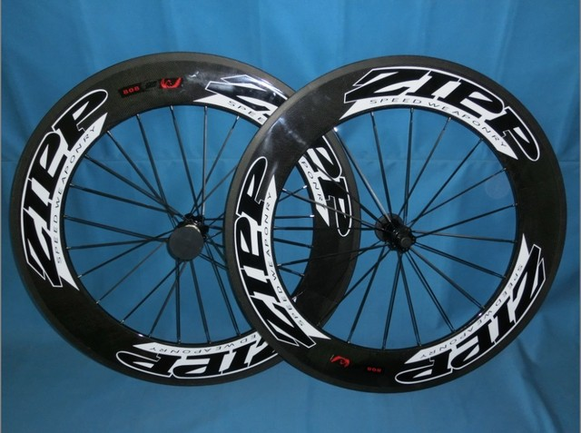 wholesale-zipp 808 firecrest carbon clincher/tubular 88mm&carbon wheelset tubular/clincher&3k glossy/matte finishing