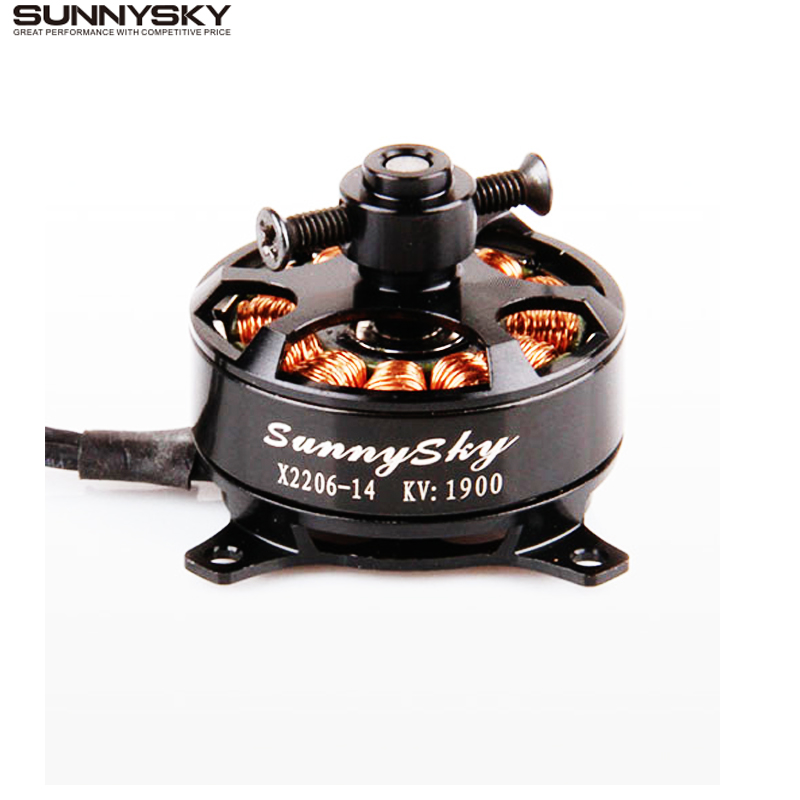 Sunnysky X2206 1500KV 1900KV Outrunner Motor sin escobillas 2206 RC Quadcopter de Multicopter