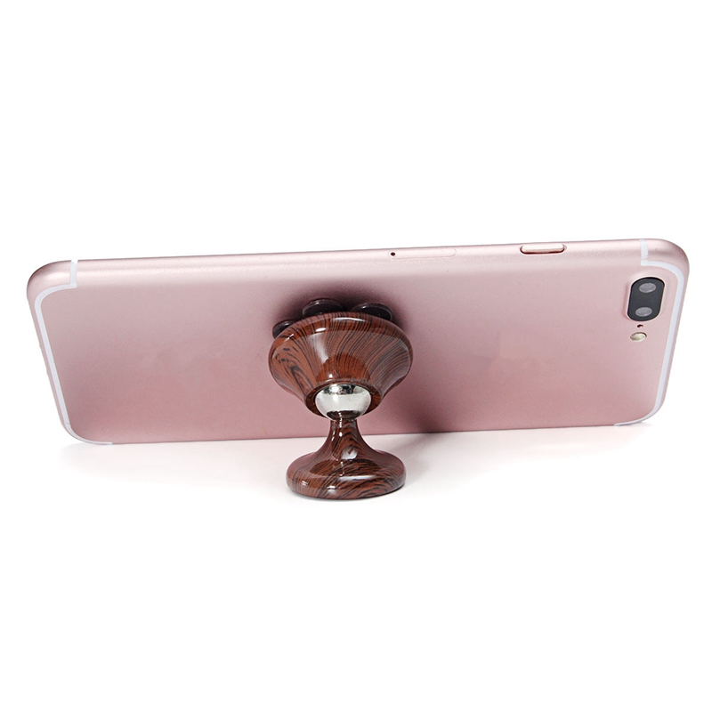 360 Degree Rotation Magnetic/Sucker Chuck Car Dashboard Holder Mobile Phone Stand Mount Universal For GPS For iPhone For UMI