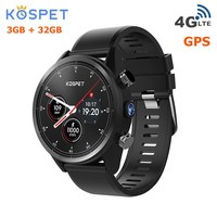 Kospet надежда 4G Smartwatch телефон 4 ядра 1,3 GHz 3 GB Оперативная память 32 ГБ Встроенная память 8.0MP Камера IP67 BT V4.0 Водонепроницаемый Смарт часы Android 7,1