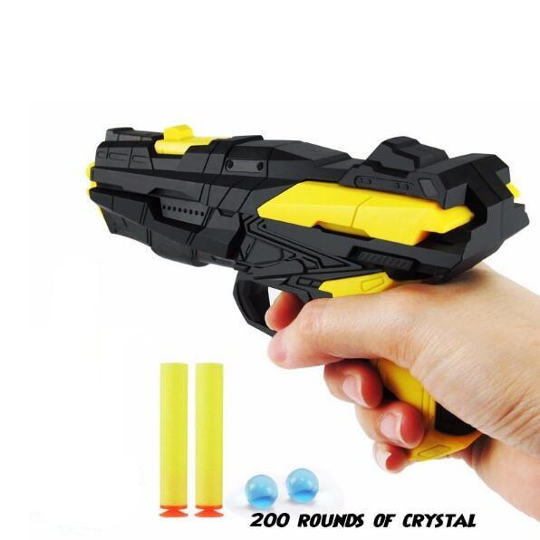 Paintball Gun Pistol Soft Bullet Gun Plastic font b Toys b font CS Game Shooting Water