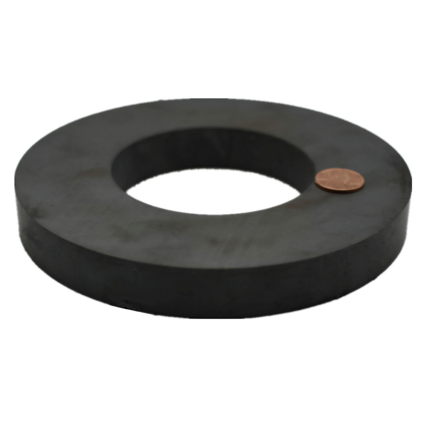 1 piece Ferrite Magnet Ring OD 156x80x20 mm 6 Large Grade C8 Ceramic Magnets for DIY Loud speaker Sound Box board home use binder inner page notebook loose leaf papery separator index paper separation divider page 5 sheets matching filofax kikkik href