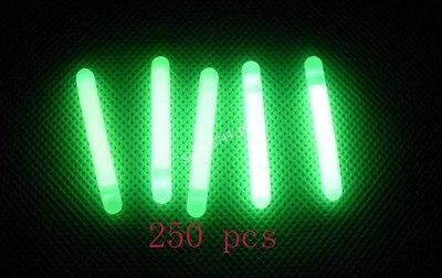 Pesca da Noite Vara do Fulgor da Vara Fluorescente Float 4.5 Milímetros * 37mm 250 Pcs Luz